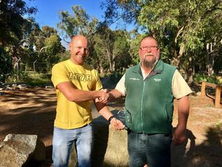 Parks Victoria 2016 Kookaburra Award Winner