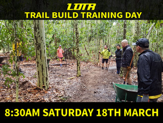 Trail Build Training Day