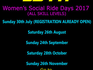 Women Social Ride Dates (ALL Skill Levels)