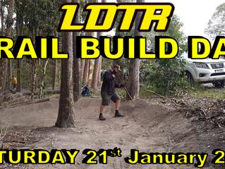 Trail Build Day - Dog Pound Trail