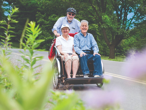 Cycling without Age: It's more than a feeling of freedom!