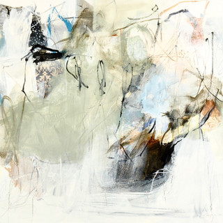 Empreinte 2018, mixtes sur toile, 22x26p