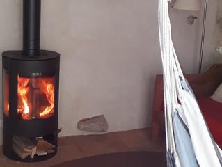 Un poêle à bois pour l'hiver