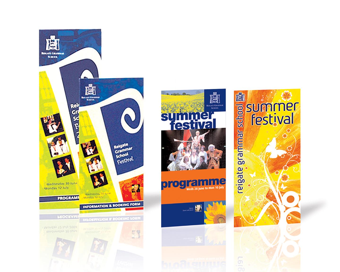 RGS SUMMER FEST PROGS