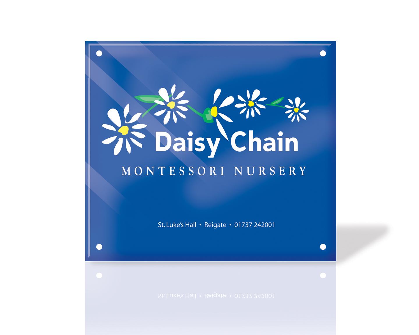DAISY CHAIN Sign