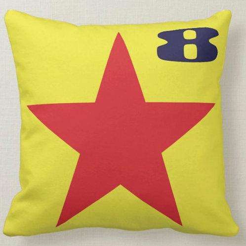STAR Pop Art Cushion (Double Sided) - Inspired by Paul Weller & Peter Blake