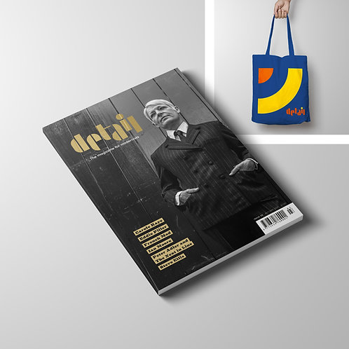 Detail magazine - Issue 3 + Tote (Sept 2021) Includes magazine delivery