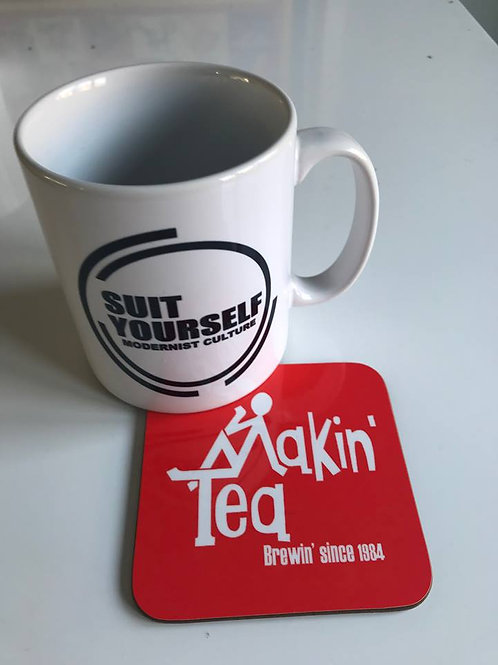 Makin' Tea Coasters, Designed by Fay Hallam