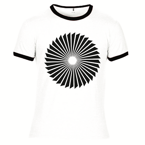 Propeller - screen-printed T-Shirt - White / Black