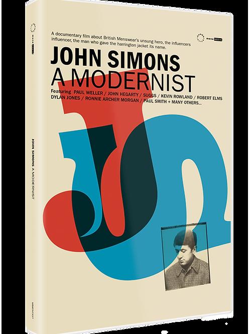 JOHN SIMONS – A MODERNIST DVD
