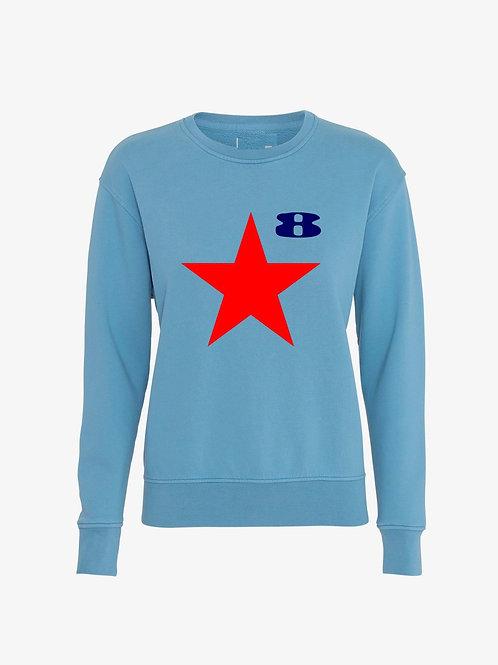 STAR (Female Heather Sweatshirt) - Inspired by Peter Blake & Paul Weller