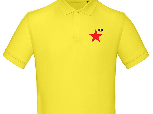 STAR on Organic Polo - Inspired by Peter Blake & Paul Weller