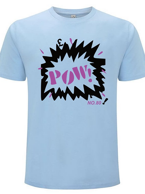 POW!£ inspired by The Jam - Organic Fashion Cut Un