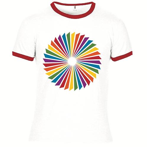 Propeller - screen-printed T-Shirt - White / Multi