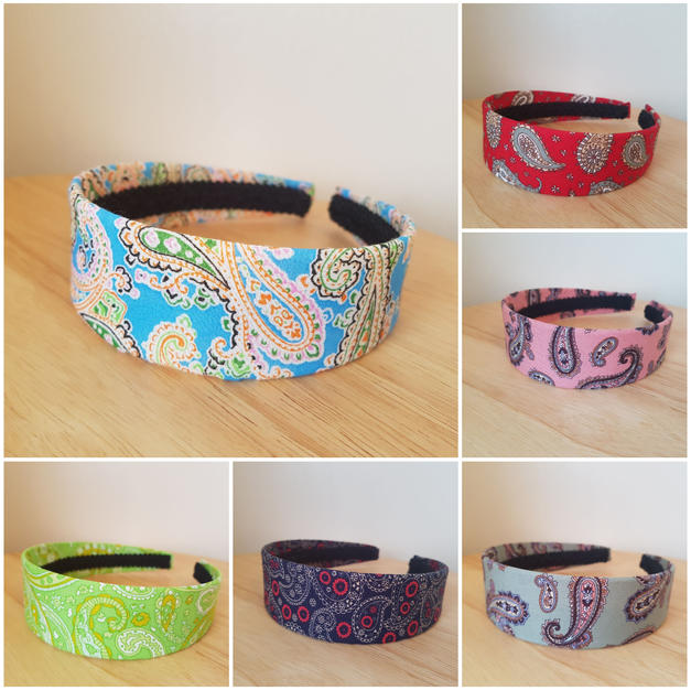 Paisley & Lace Hairbands