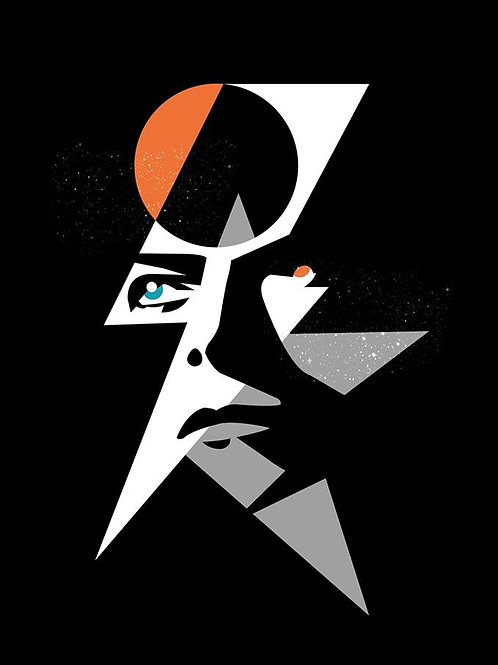 STARMAN Fine Art Print- Inspired by David Bowie