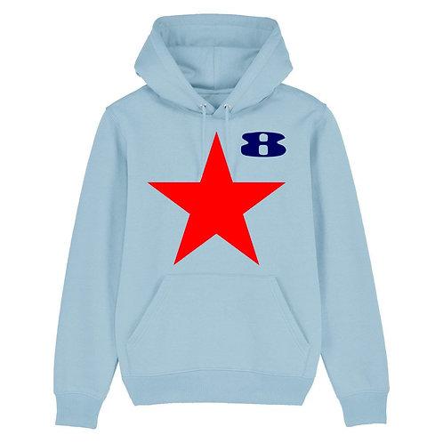 STAR (Sky Organic Hoodie) - Inspired by Peter Blake & Paul Weller