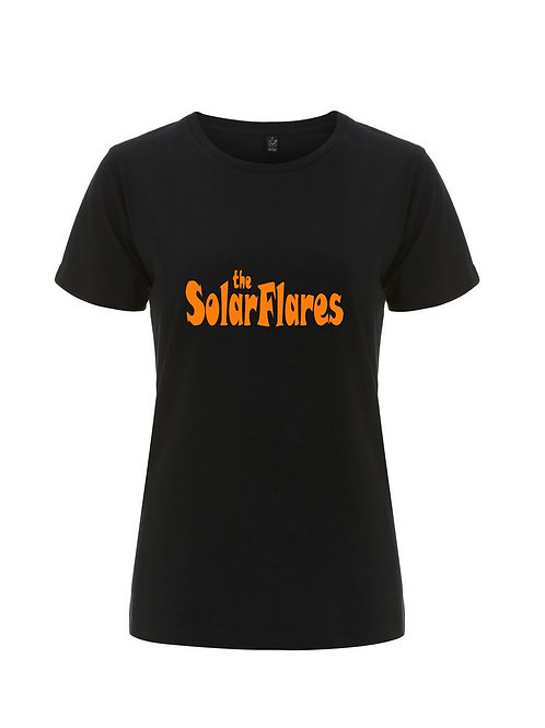 THE SOLARFLARES (Logo FEMALE) - Official Merchandise by Sound is Colour