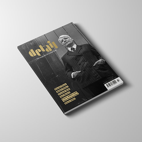 Detail magazine - Issue 3 (Sept 2021)  Includes delivery (U.K)