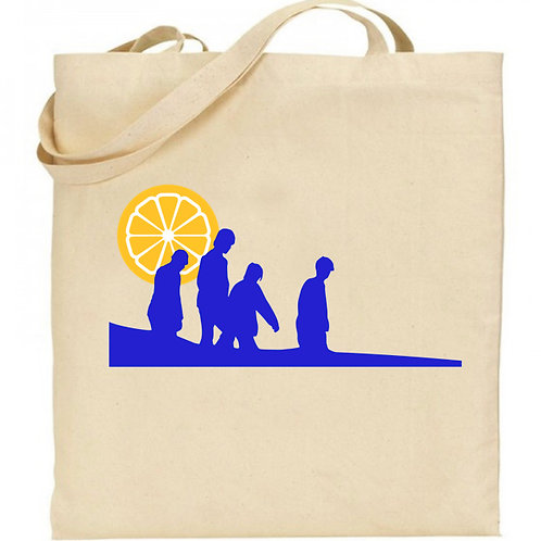 SUNSET - Natural Cotton Tote Bag inspired by The Stone Roses