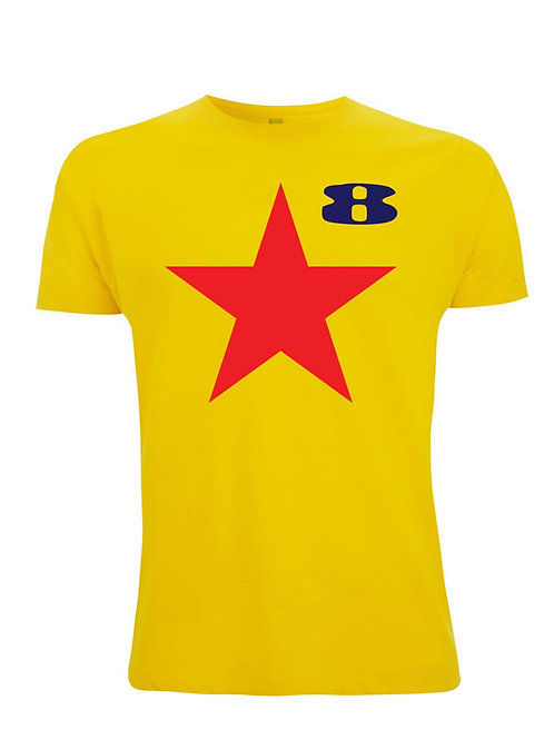 Star - Inspired by Peter Blake & Paul Weller. Organic Unisex