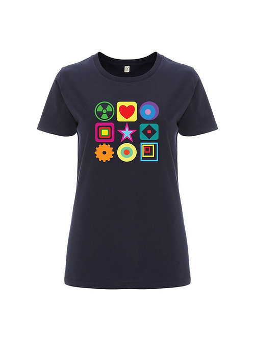 MODIFICATIONS (Female) - Premium Organic Tee from Fay Hallam & Sound is Colour