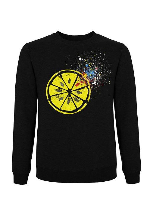 LEMON (Organic Sweatshirt) - Inspired by The Stone Roses