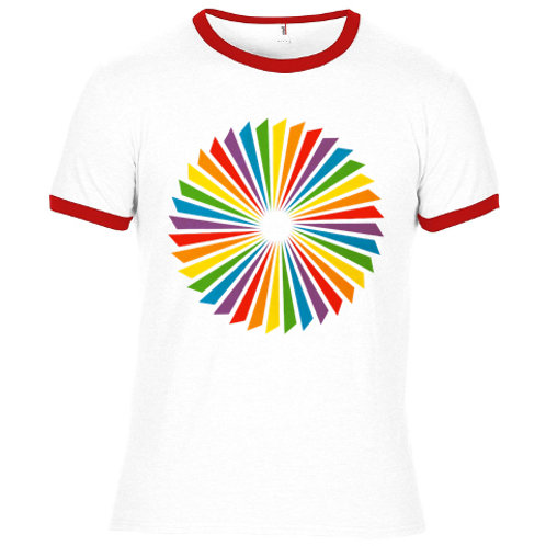 Propeller - screen-printed T-Shirt - White / Multi