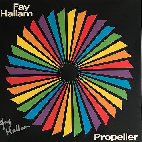 Propeller SIGNED Album, Fay Hallam