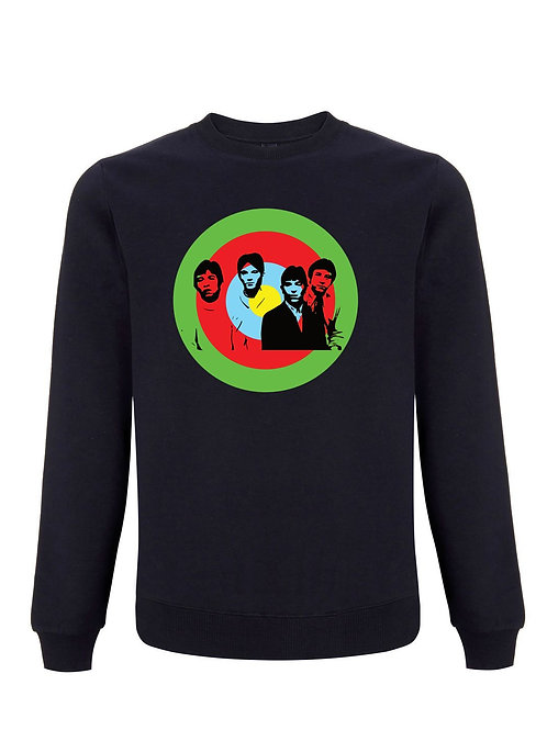 THERE ARE BUT FOUR SMALL FACES  (Organic Sweatshirt)