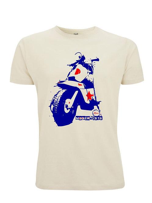 Modernists Lambretta - Organic Fashion Cut T-shirt