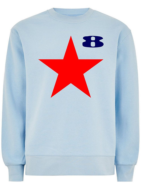 STAR (Organic Sweatshirt) - Inspired by Peter Blake & Paul Weller