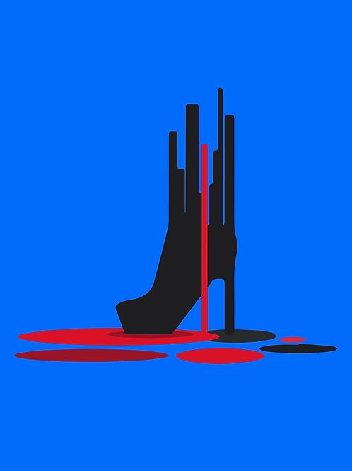 NEW YORK BOOT Fine Art Print- Inspired by The Velvet Underground