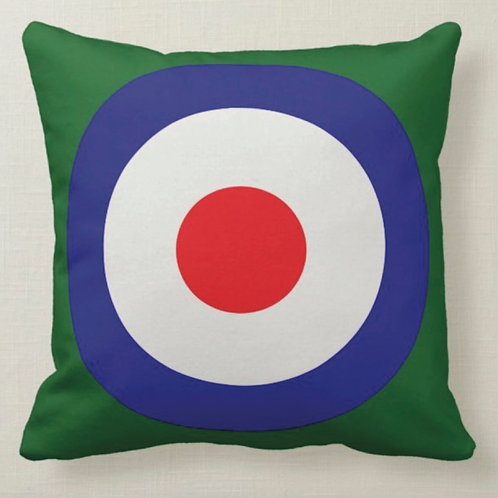 TARGET Pop Art Cushion (Double Sided) - Inspired by Paul Weller & Peter Blake