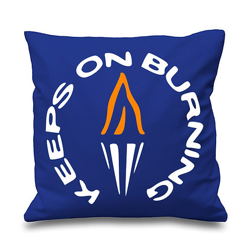 Keeps on Burning Cushion - Inspired by The Style Council (Double Sided)