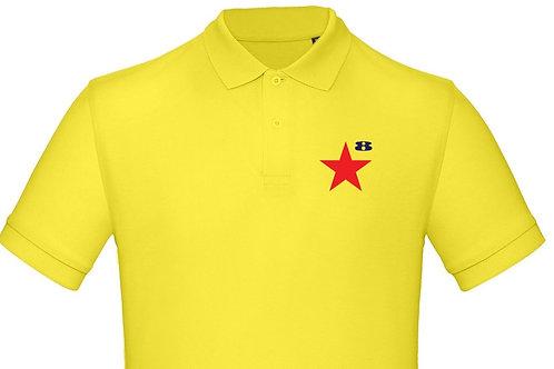 STAR on Organic Polo - Inspired by Peter Blake & Paul Weller
