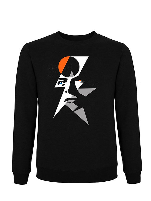 STARMAN - (Organic Sweatshirt) - Inspired by David Bowie