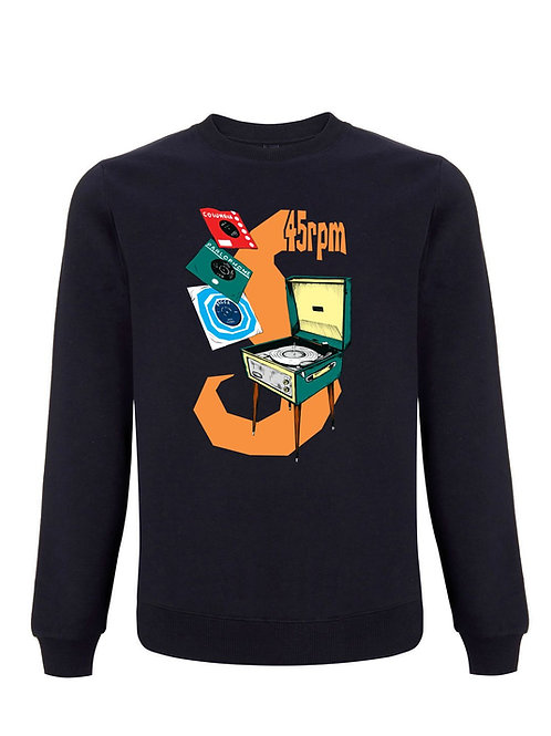 (Organic Sweatshirt) - Inspired by Record Collecting