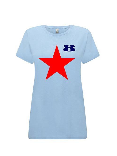 STAR (Aqua) - Inspired by Paul Weller and Peter Blake - FEMALE CUT