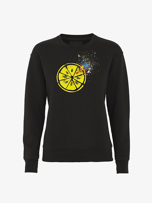 LEMON (Female Organic Sweatshirt) - Inspired by The Stone Roses