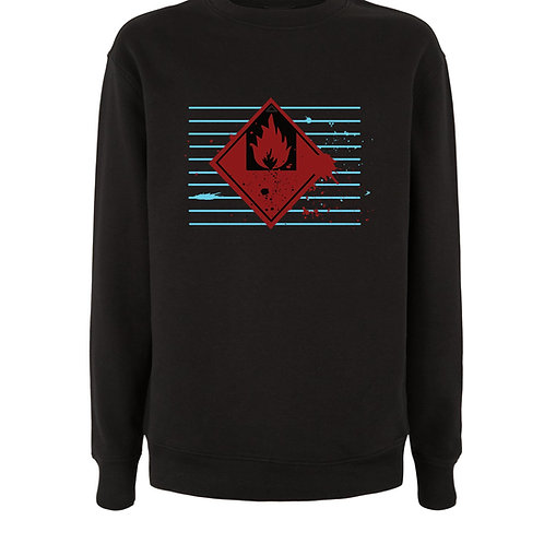 BLUE LINES (Organic Sweatshirt) - Inspired by Massive Attack