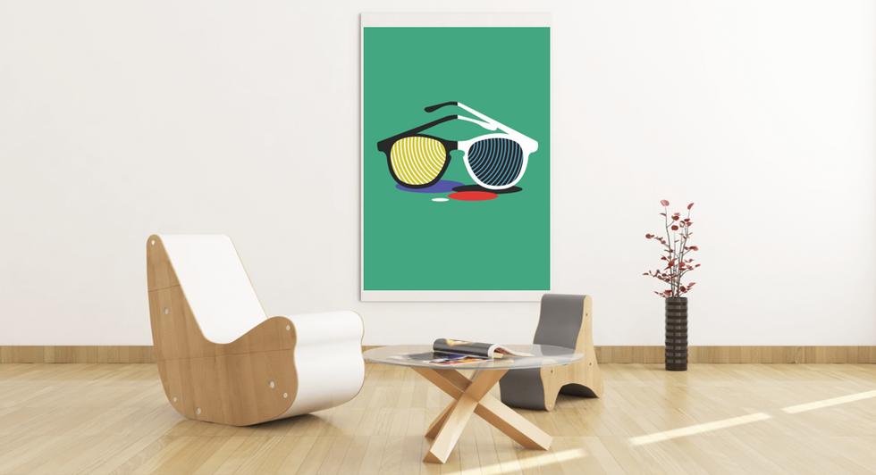 mockup-featuring-an-art-print-hanging-at