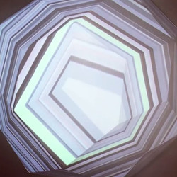 Unremarkable Stars by Dev Harlan _devharlan #Repost _brianbanton #projectionmapping #contemporaryart