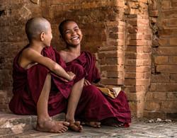 L_Novice Monks just being kids - Cindy Koller - United states_W70