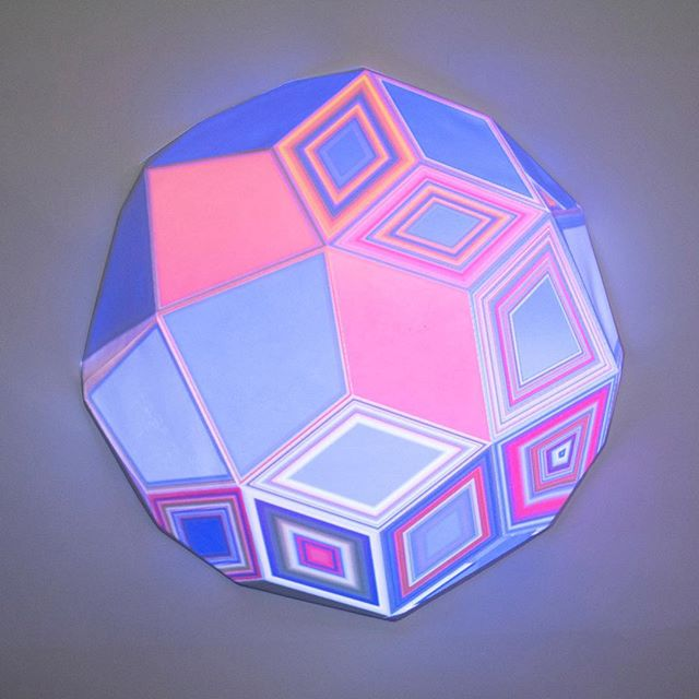 Unremarkable Stars by Dev Harlan _#groupshow #projectionmapping #dumbobk