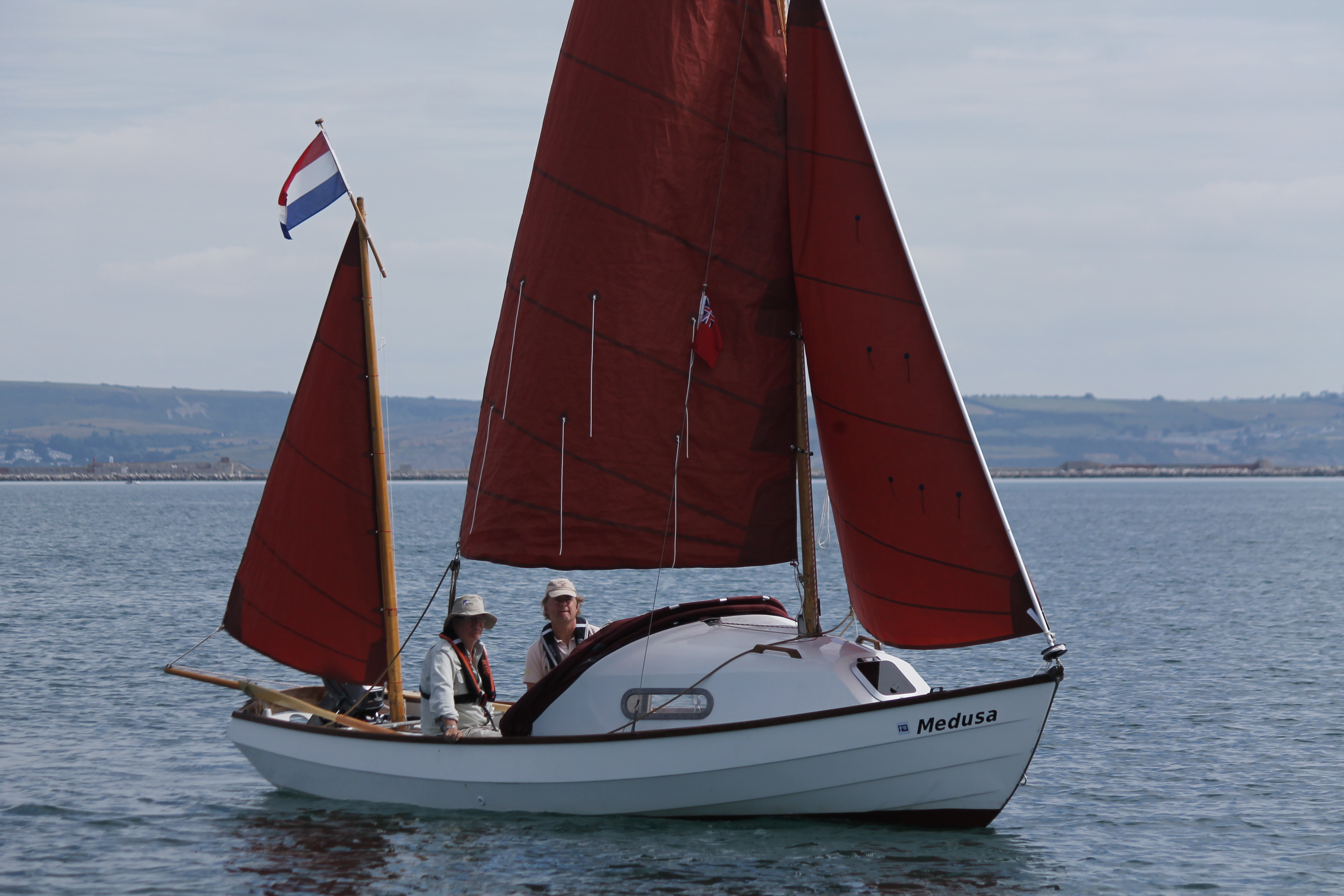 Drascombe Lugger 50th 082