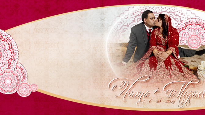 Huma+Miguel Wedding Album Highlights