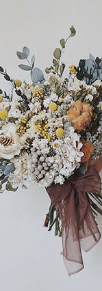 Rustic Autumn Colored Bouquet