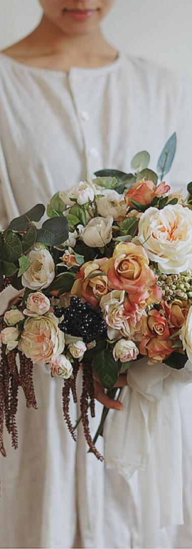 Rustic Rose Garden Bouquet