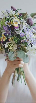 Bouquet in Tender Color